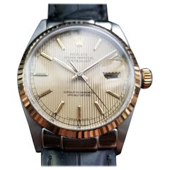 Mens Rolex Oyster Datejust Ref.16013 18k & SS Automatic, c.1980s Swiss NS30