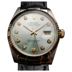 Mens Rolex Oyster Datejust Ref.16014 18k & SS Automatic, c.1970s Swiss NS32