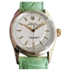 Mens Rolex Oyster Pereptual 6634 Gold-Capped Automatic, c.1950s RA141GRN