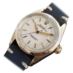 Men's Rolex Oyster Pereptual Ref.6634 Gold-Capped Automatic, c.1950s RA141