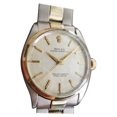 Men's Rolex Oyster Perpetual 1002 14 Karat and SS Automatic, circa 1960s RA101