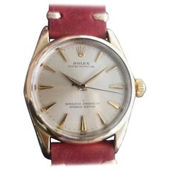 Men's Rolex Oyster perpetual 1014 Gold-Capped Automatic, circa 1960s RA142RED