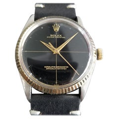 Mens Rolex Oyster Perpetual 5500 14k Gold & SS Automatic, c.1960s RA103BLK