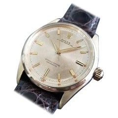 Men's Rolex Oyster Perpetual 6564 14k Gold Automatic, c.1950s Swiss RA150