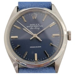 Mens Rolex Oyster Perpetual Air-King Ref 5500 Automatic 1970s Vintage RA197