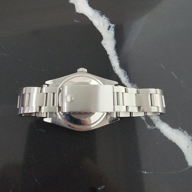 Mens Rolex Oyster Perpetual Date 1500 1970s Orange Dial Automatic RA175 For Sale 4