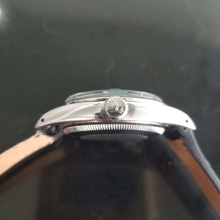 Men's Rolex Oyster Perpetual Date 1500 Automatic, c.1960s Vintage RA112BLK 5