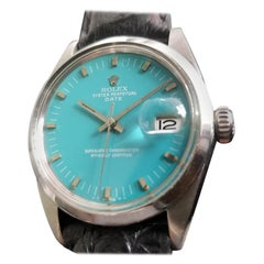 Men's Rolex Oyster Perpetual Date 1500 Automatic, c.1960s Vintage RA112BLK