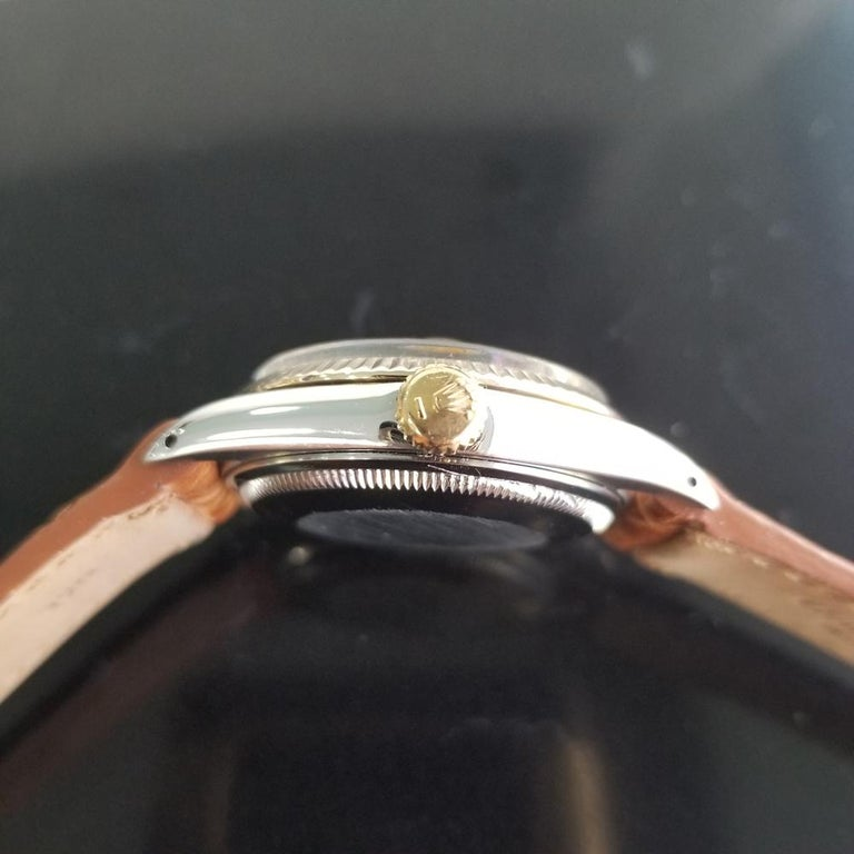 Mens Rolex Oyster Perpetual Date 1505 Automatic, c.1970s Vintage RA146TAN 4