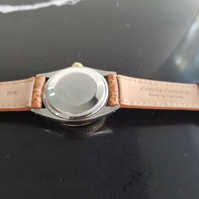 Mens Rolex Oyster Perpetual Date 1505 Automatic, c.1970s Vintage RA146TAN 5