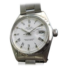 Mens Rolex Oyster Perpetual Date Ref.1500 Automatic, c.1970s Vintage RA132