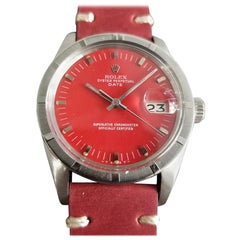 Men's Rolex Oyster Perpetual Date Ref.1501 Automatic c.1970s Swiss RA121RED