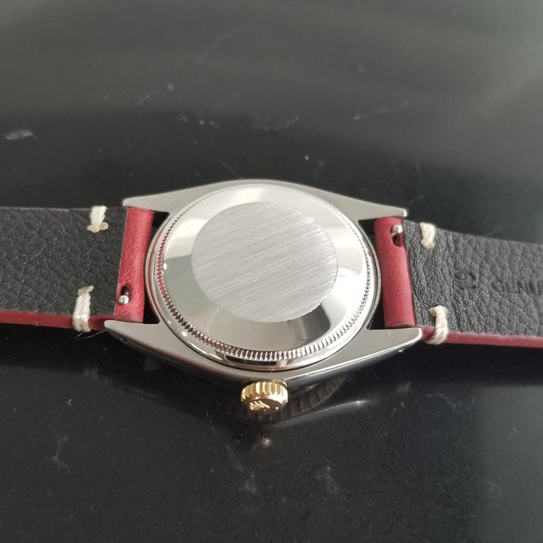 Men's Rolex Oyster Perpetual Date Ref.1505 18k & SS Automatic, c.1970s RA136 For Sale 5