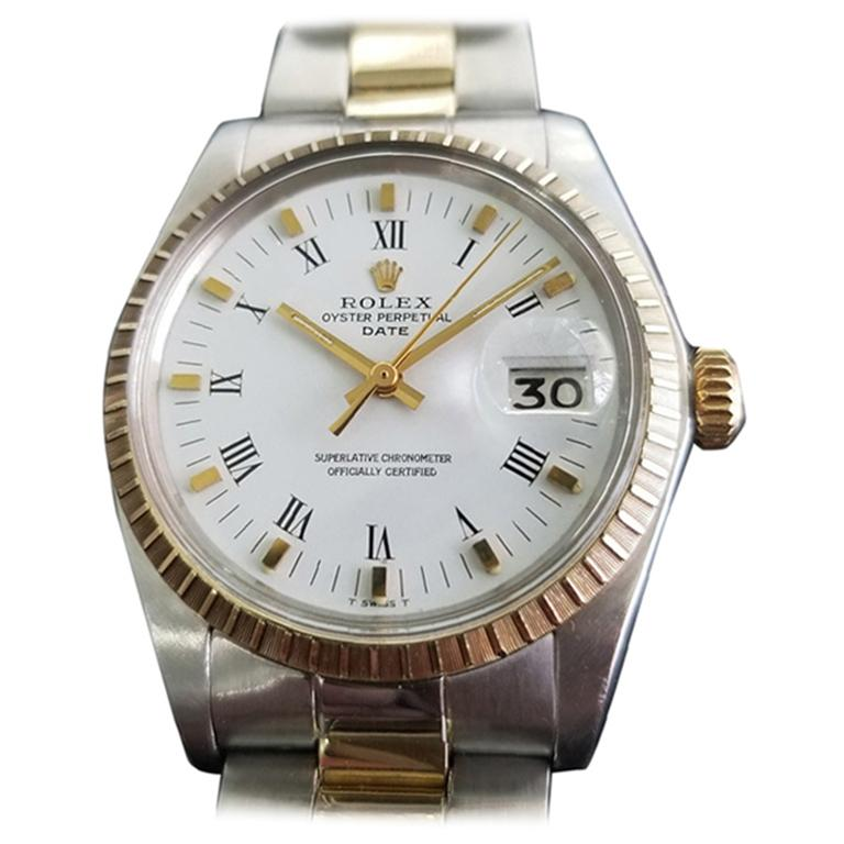 Men's Rolex Oyster Perpetual Date Ref.1505 Automatic, c.1970s Swiss RA106
