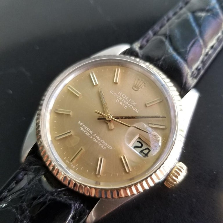 Men's Mens Rolex Oyster Perpetual Date Ref.1505 Automatic, c.1970s Swiss RA146