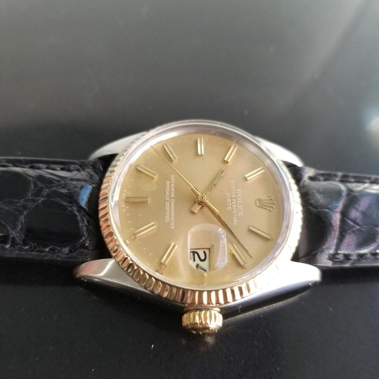 Mens Rolex Oyster Perpetual Date Ref.1505 Automatic, c.1970s Swiss RA146 1