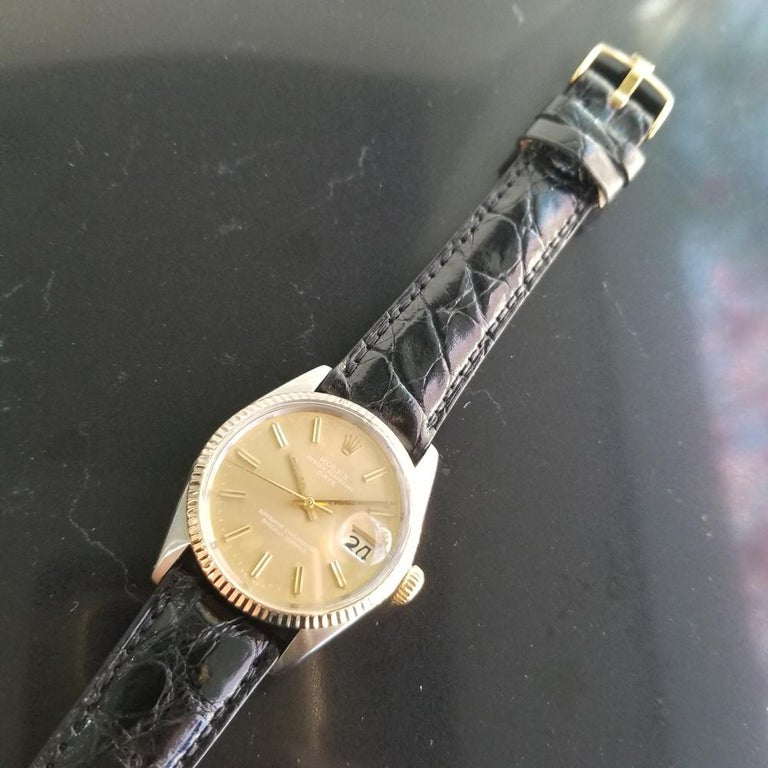 Mens Rolex Oyster Perpetual Date Ref.1505 Automatic, c.1970s Swiss RA146 2