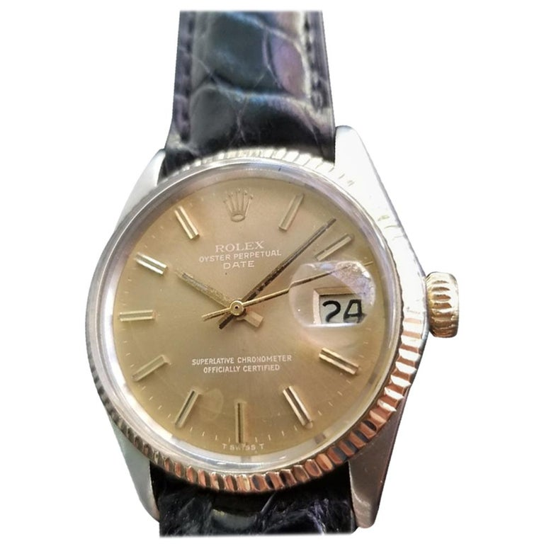 Mens Rolex Oyster Perpetual Date Ref.1505 Automatic, c.1970s Swiss RA146