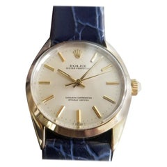 Men's Rolex Oyster Perpetual Ref 1024 Gold-Capped Automatic, circa 1980s RA145