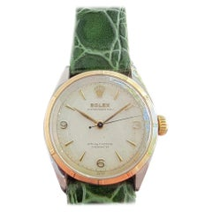 Mens Rolex Oyster Perpetual Ref 6085 14k Gold & SS Automatic 1950s MA206