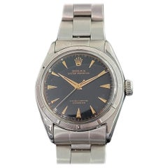 Mens Rolex Oyster Perpetual Ref 6085 Automatic 1950s Swiss Vintage MA210