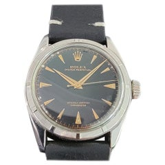 Mens Rolex Oyster Perpetual Ref 6085 Automatic 1950s Vintage MA210BLK