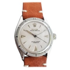Mens Rolex Oyster Perpetual Ref 6103 Automatic c1950s Swiss Vintage RA154