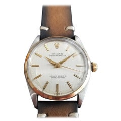 Men's Rolex Oyster Perpetual Ref.1002 14k and SS Automatic, circa 1960s RA101BRN