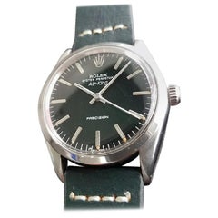 """Men's Rolex Oyster Perpetual Ref.1007 """"Air-King"""" Automatic, c.1960s RA119GRN"""