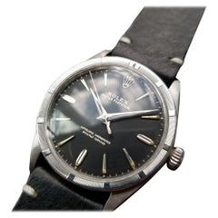 Mens Rolex Oyster Perpetual Ref.1007 Automatic, c.1960s Vintage LV921BLK