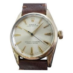 Mens Rolex Oyster Perpetual Ref.1014 Gold-Capped Automatic, circa 1960s RA142