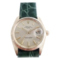 Men's Rolex Oyster perpetual Ref.1503 14 Karat Gold Automatic, circa 1970s RA149