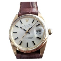 Mens Rolex Oyster perpetual Ref.1503 14k Gold Automatic, c.1970s LV688BRN
