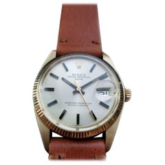 Mens Rolex Oyster perpetual Ref.1503 14k Gold Automatic, c.1970s LV688TAN