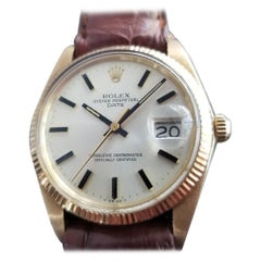 Men's Rolex Oyster perpetual Ref.1503 14k Gold Automatic, circa 1970s RA149RED