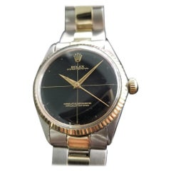 Men's Rolex Oyster Perpetual Ref.5500 14k Gold & SS Automatic, c.1960s RA103