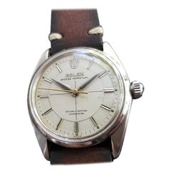 Men's Rolex Oyster Perpetual Ref.6564 Automatic, c.1950s Swiss Vintage RA139