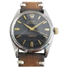 Mens Rolex Oyster Perpetual Ref.6564 Automatic, c.1950s Vintage RA140BRN