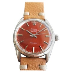 """Mens Rolex Oyster Precision 1003 """"Air-King"""" 34mm Automatic, c.1960s RA114TAN"""
