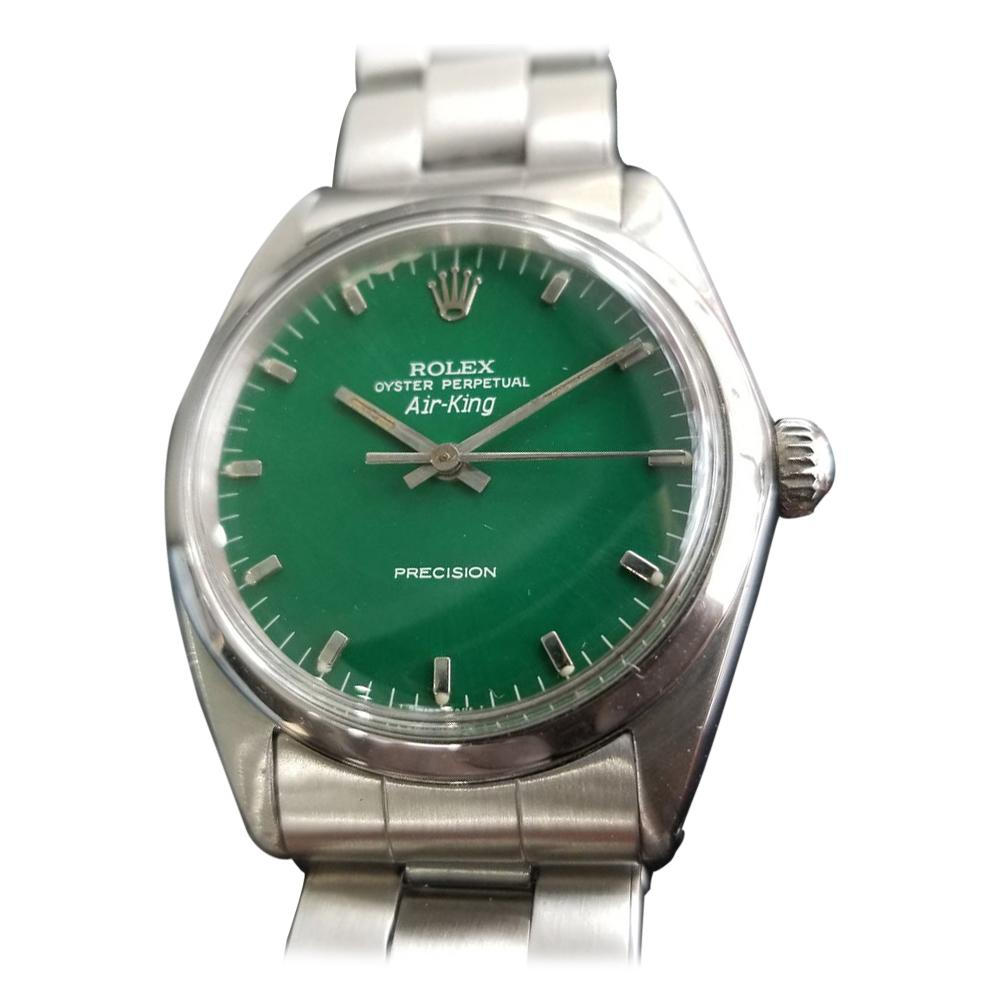 "Men's Rolex Oyster Precision 1008 ""Air-King"" Automatic, c.1960s Swiss RA117"