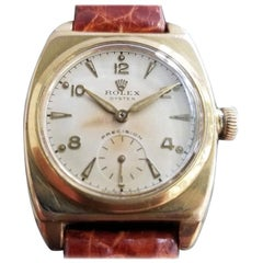 Mens Rolex Oyster Precision 3116 Gold-Capped Hand-Wind, c.1940s with Box MA193