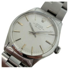 Mens Rolex Oyster Precision 5500 Air King Automatic 1970s Vintage RA253