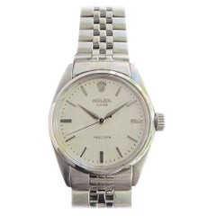 Mens Rolex Oyster Precision Ref 6422 Hand-Wind c1950s Swiss Vintage MA203