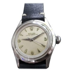 Mens Rolex Oyster Speedking Ref.6632 Automatic, c.1950s Swiss Vintage RA138