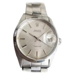 Mens Rolex Oysterdate Precision 6694 Hand-Wind, c.1970s Vintage RA123