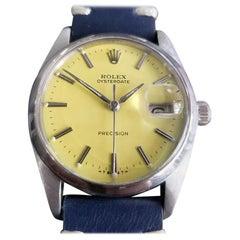 Mens Rolex Oysterdate Precision Ref.6694 Hand-Wind, c.1960s Swiss RA108BLU