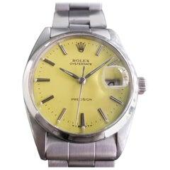 Men's Rolex Oysterdate Precision Ref.6694 Hand-Wind, c.1960s Vintage RA108