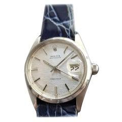 Mens Rolex Oysterdate Precision Ref.6694 Hand-Wind, c.1970s Swiss RA123BLU