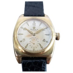 Mens Rolex Precision Ref.3116 Gold-Capped Hand-Wind, c.1940s with Box MA193BLK