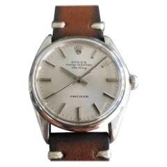 Mens Rolex Precision Ref.9659 18k White Gold Hand-Wind, c.1960s Swiss RA153